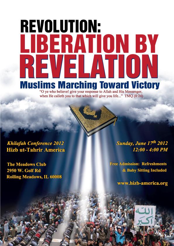Hizb ut-Tahrir Announces Third Khilafah Conference in Chicago