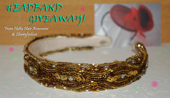 Hettie Hair Accessories, Headband giveaway, Accessory giveaway, Giveaway, Fashion giveaway, Headbands