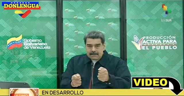 Maduro no permitirá que entre ninguna vacuna traída por Juan Guaidó