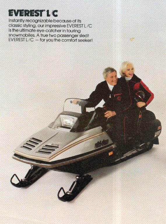 CLASSIC SNOWMOBILES OF THE PAST: 1982 SKI-DOO EVEREST LC ...
