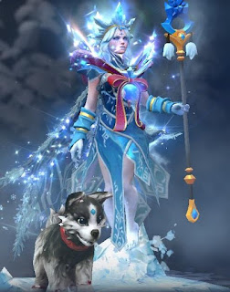 Crystal Maiden - Frost Avalanche style 2