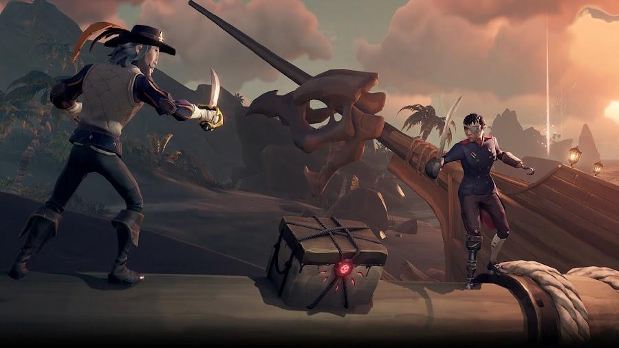 sea of thieves dark relics content update unlock reaper's chest rewards pc xb1