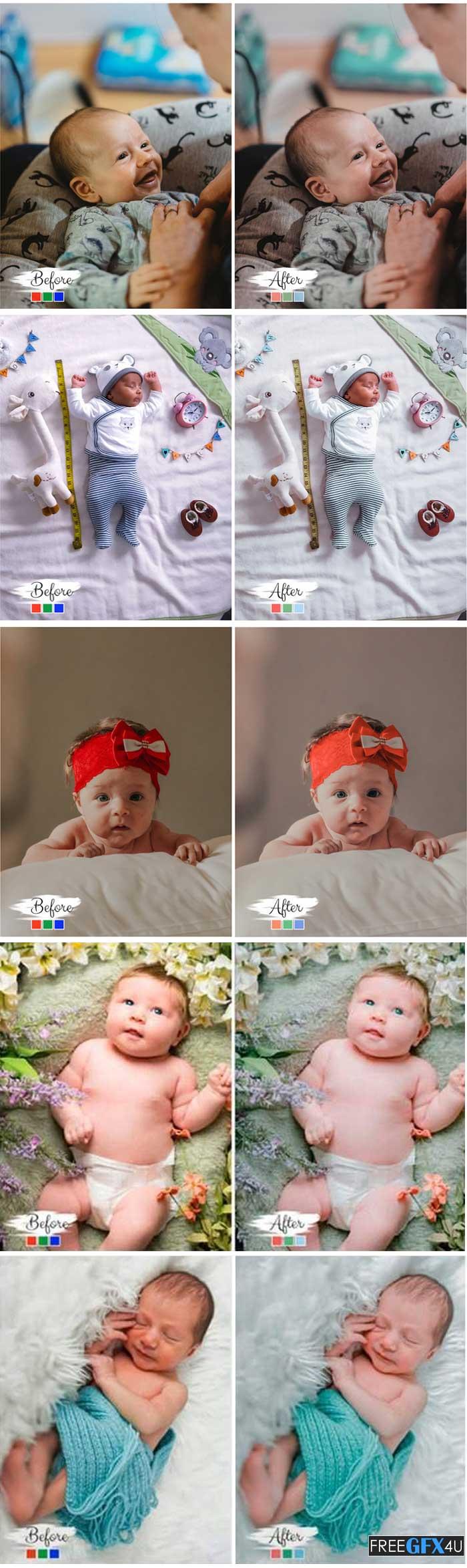 10 Photoshop Actions ACR Little Wonder
