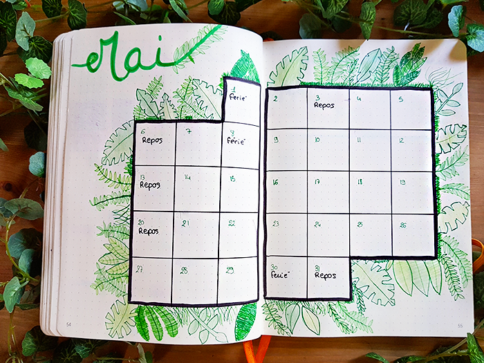 01 blog nimoise nimes bullet journal mai
