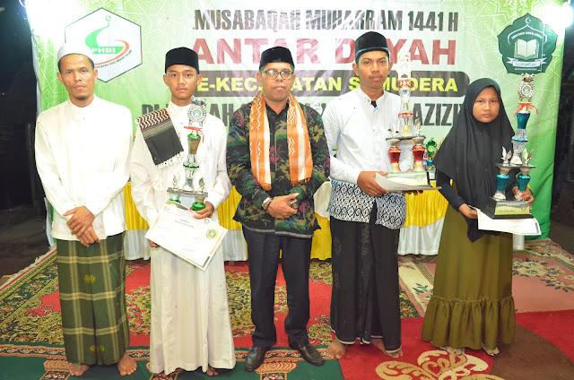 Dayah Shafal Ulum Al-Aziziyah Sukses Selenggarakan Musabaqah Muharram Antar Dayah Se-Kecamatan Samudera