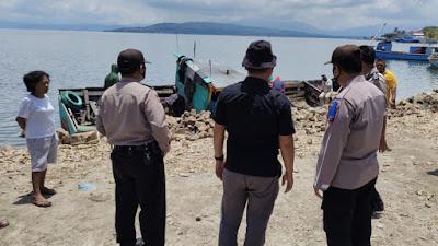 3 Kapal Pengangkut Batu Ilegal dan 11 Orang Diamankan Polres Toba