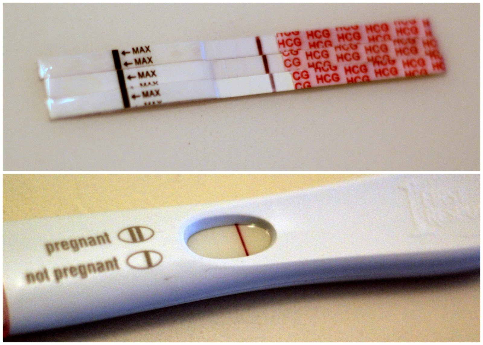 I tested  :) (BFP mentioned) — The Bump