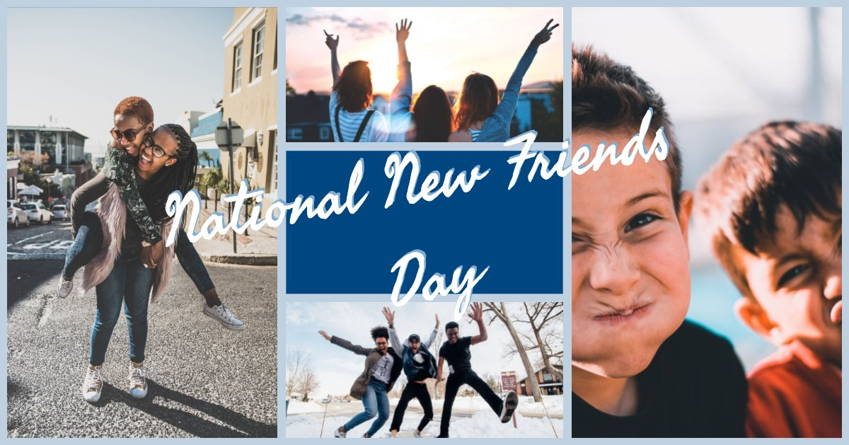 National New Friends Day Wishes Pics