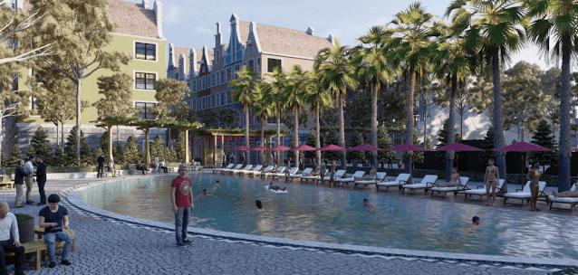 dự án biệt thự shop villas Sunshine Residence Helios Ciputra Hà Nội