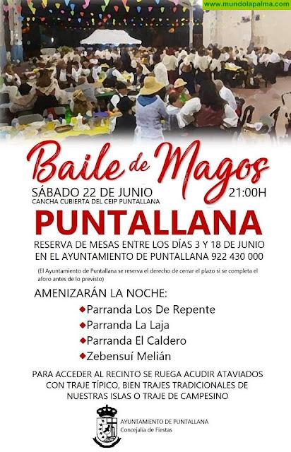 Baile de Magos en Puntallana