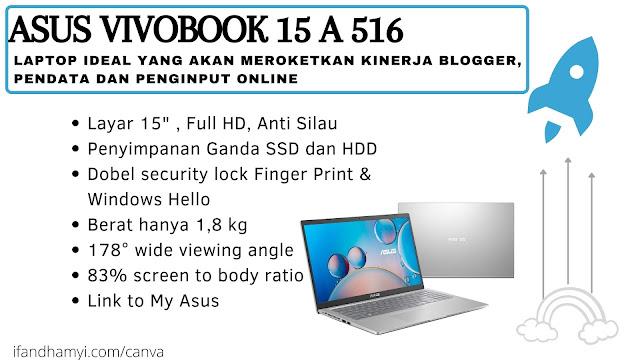 Asus Vivobook 15 A 516