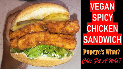 vegan spicy chicken sandwich