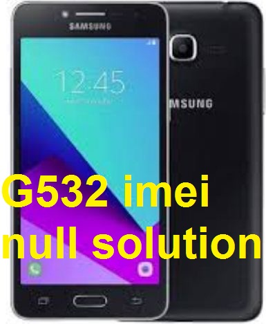Samsung J2 G532 IMEI Null or Invalid 100% Repair Solution