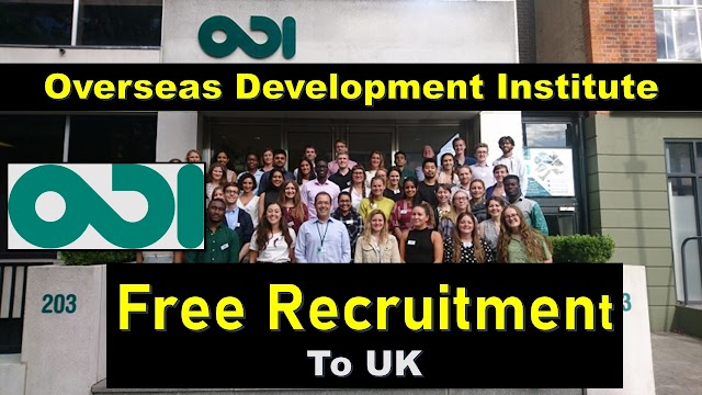 Overseas Development Institute Jobs In UK 2020.