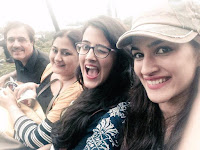Kriti Sanon with her family photo