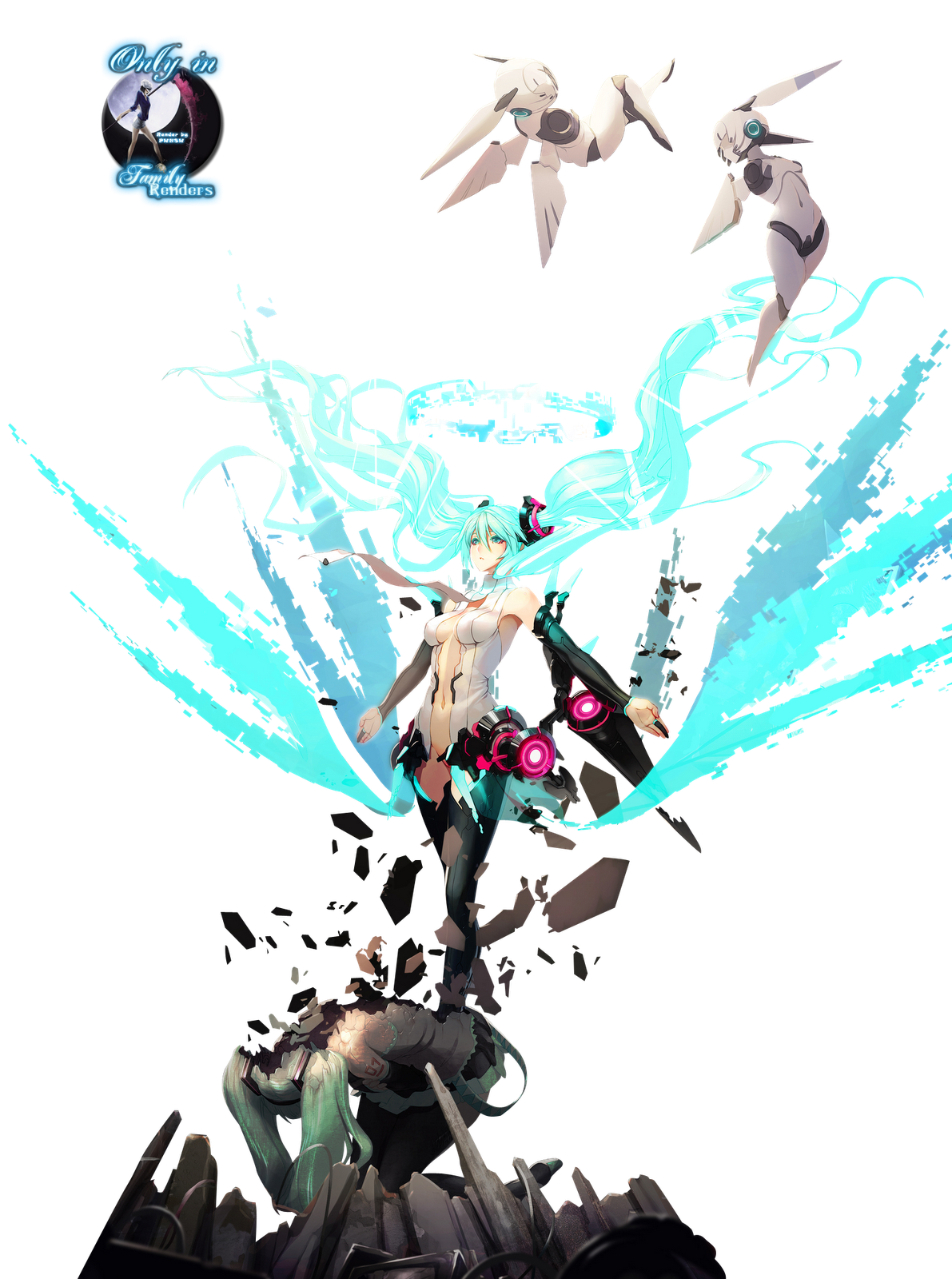 PNG-Miku Hatsune Append