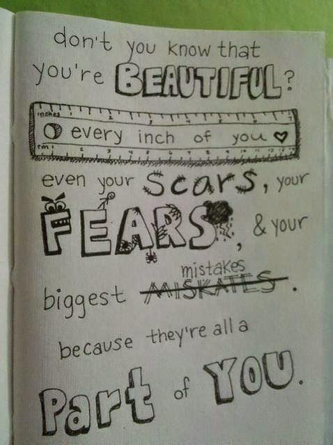 Scars To Your Beautiful Quotes
