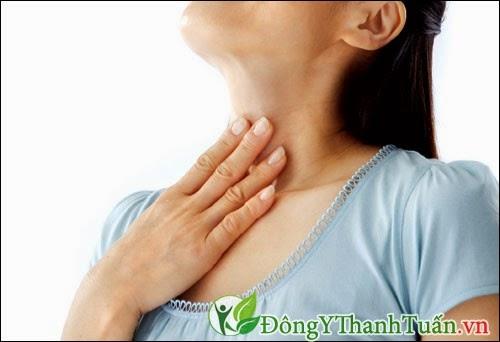 Khó nuốt là triệu chứng của bệnh trào ngược dạ dày thực quản