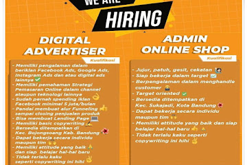 Lowongan Kerja Admin Online Shop CV Pelita Abadi Solusindo