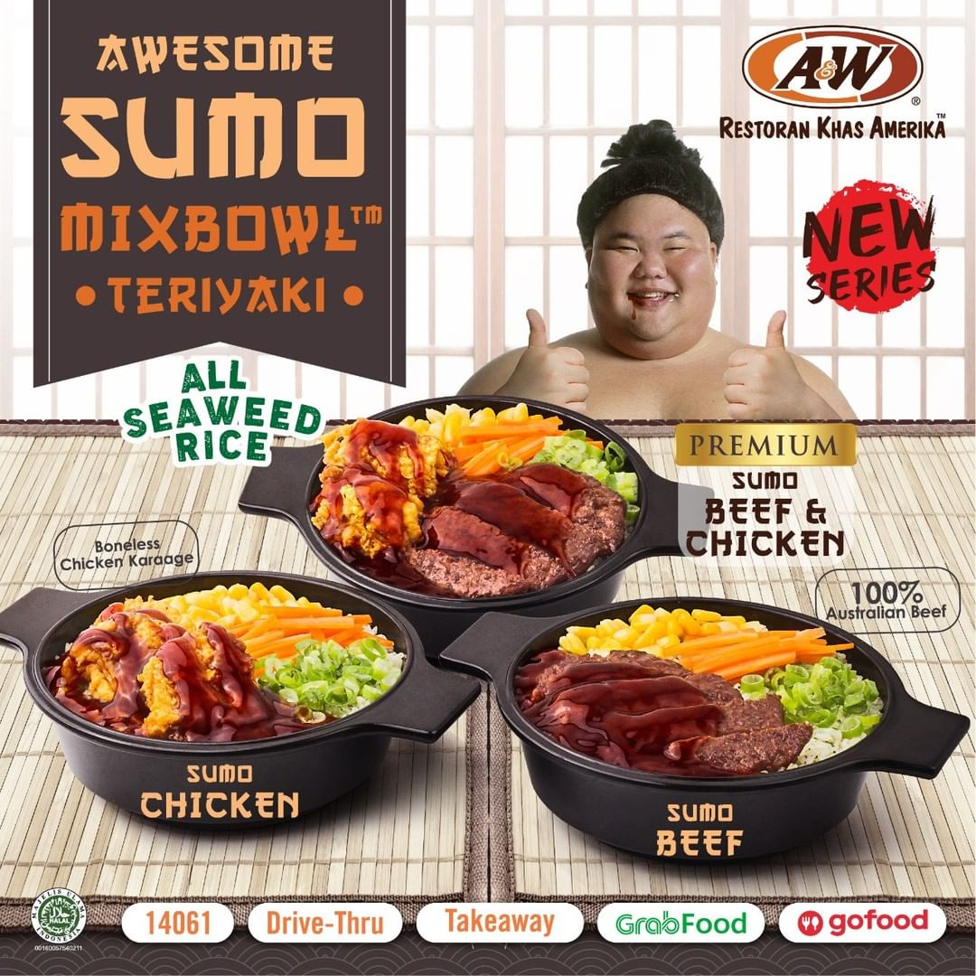 Promo AW Paket SUMO Menu Baru dari A&W Restaurant