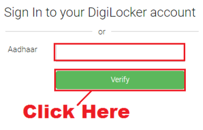 login in digilocker without username and password