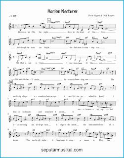 chord harlem nocturne 1 lagu jazz standar