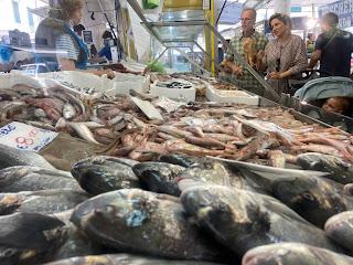 La Spezia Market - fishmonger