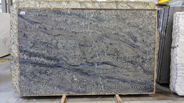 2cm Blue Bahia Granite Slabs NYC