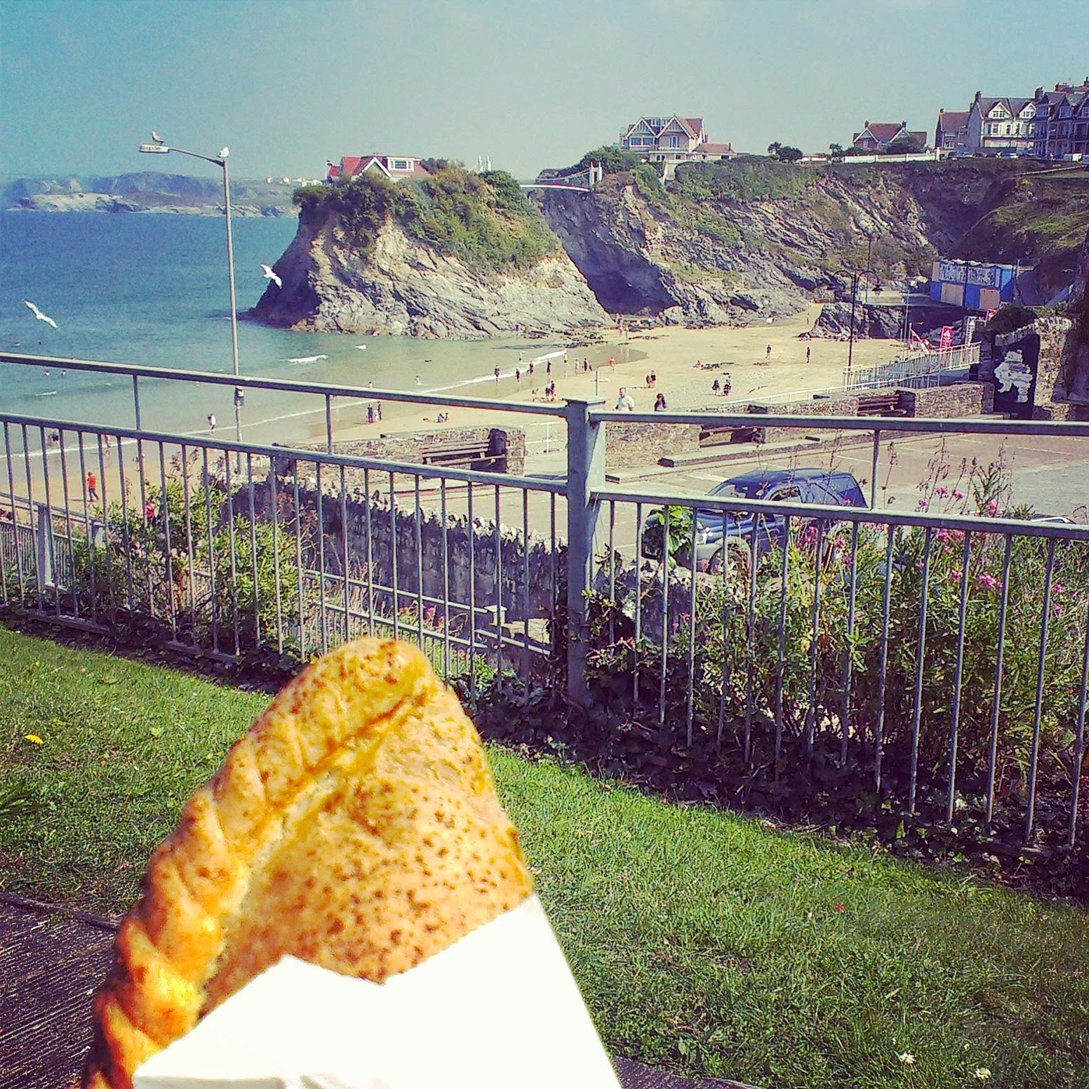 Pasty in Newquay