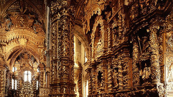 Que ver en Oporto en un dia. Iglesia de Sao Francisco