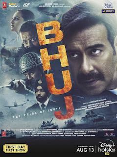 Download Bhuj: The Pride of India (2021) Full Hindi Movie 720p HDRip