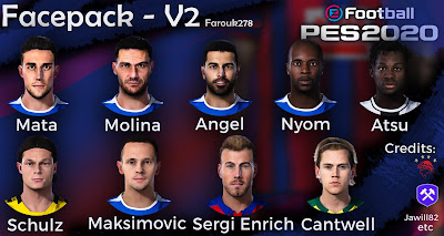 PES 2020 Facepack V2 by Farouk