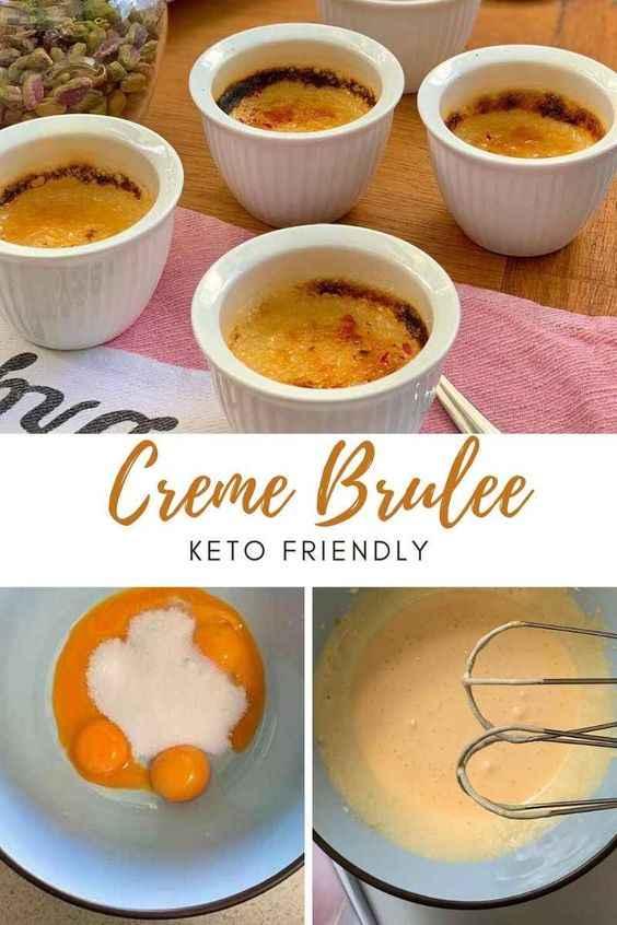 Creme Brulee Keto Friendly