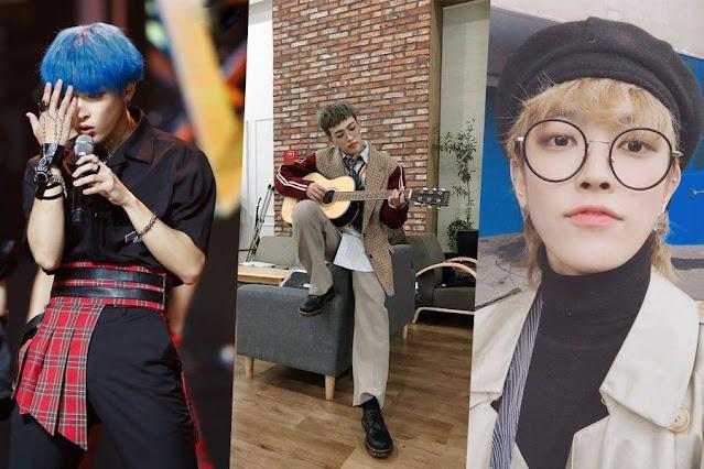 ATEEZ'den Hongjoong'dan Moda Kralı Olduğunu Gösteren 10 Bakış