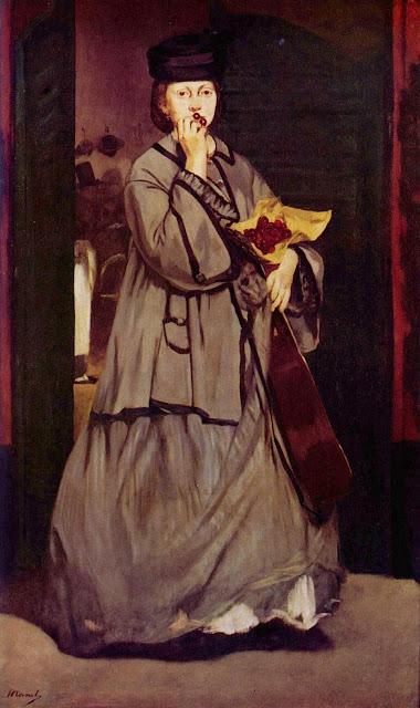 1862. Edouard Manet - Street Singer