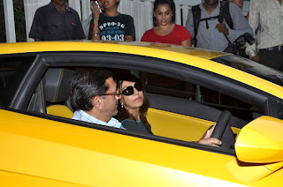 Shamita Shetty & celbs Shilpa Shetty in hospital