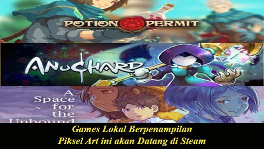 Games Lokal Berpenampilan Piksel Art ini akan Datang di Steam