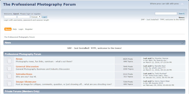 top 15 best photography forums the professsional photograpy forum