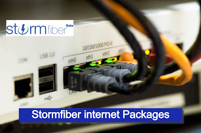 Stormfiber packages Price Monthly base With Details 2021