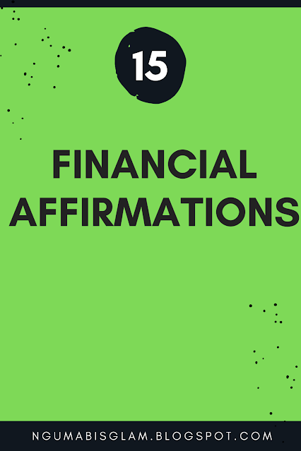 15 Financial Affirmations