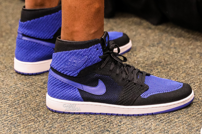 0c56a60c79e07e Black Royal Air Jordan 1 High Flyknit drops this October