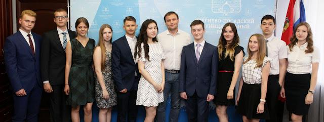 Сергей Пахомов встретился со 100-балльниками