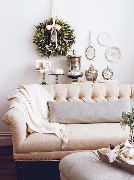 Décor Inspiration | At Home: The Romance of Winter White