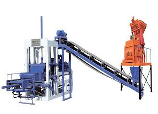 QT4-15 Concrete Block Making Machine