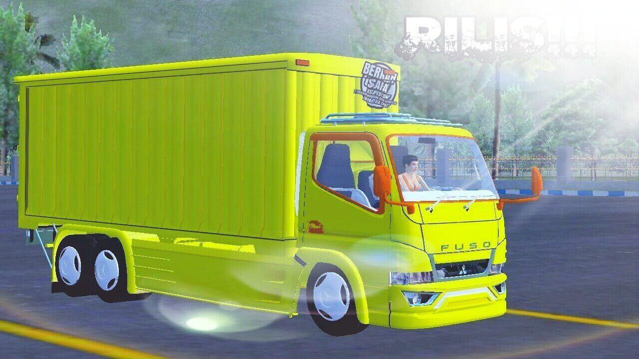 Mod Bussid Canter Box Tronton Truck
