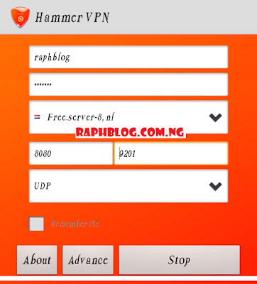 New 2019 MTN NG Hammer VPN Free Browsing Cheat