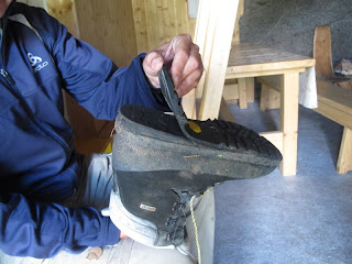 Bauliche Maßnahmen könnten auch Jürgens Schuhe vertragen