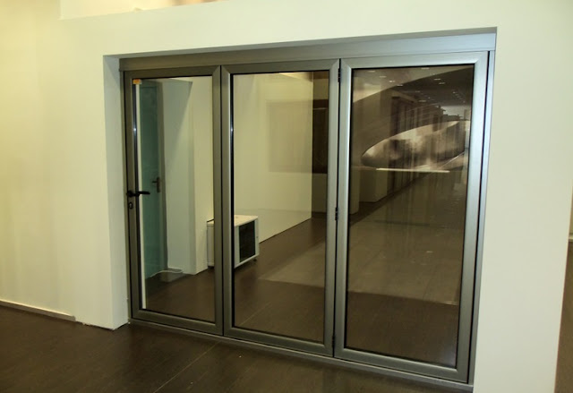 cửa nhôm kính đẹp - mẫu thiết kế số 9