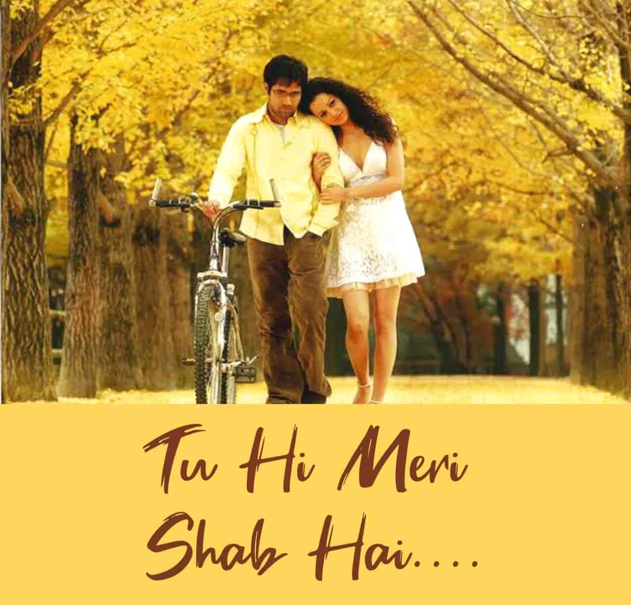Tu hi meri shab hai Hindi Love Song Lyrics, Sung By K.K.