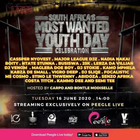 DOWNLOAD MP3: Kabza De Small – Most Wanted Youth Day Mix 2020 #Arewapublisize